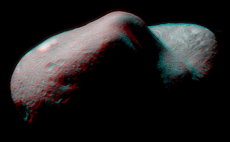 Стерео Ерос (Астрономическа снимка на деня – APOD)