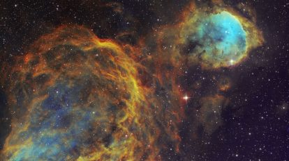 WR32 и междузвездните облаци в Кил (Астрономическа снимка на деня – APOD)