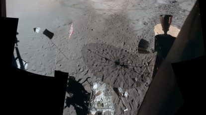 Аполо 14: Гледка от Антарес (Астрономическа снимка на деня – APOD)