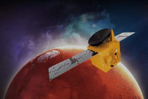 Космическата сонда Al-Amal на ОАЕ успешно влезе в орбита около Марс (видео)