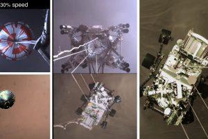 Историческо видео - НАСА показа запис от кацането на роувъра Perseverance на Марс