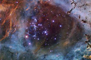NGC 2244: Звезден куп в мъглявината Розета (Астрономическа снимка на деня – APOD)