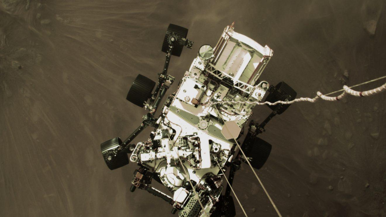 Perseverance: Как се каца на Марс (Астрономическа снимка на деня – APOD)