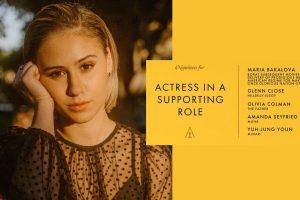 """Мария Бакалова стана първата българска актриса, номинирана за """"Оскар"""" (видео)"""
