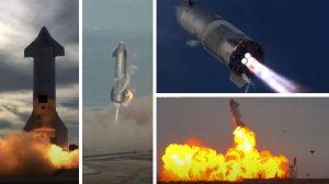 След успешен тест и историческо кацане космическият кораб Starship SN10 се взриви на площадката (видео)