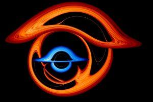 Двойно усукан свят на двойна черна дупка (видео) (Астрономическа снимка на деня – APOD)