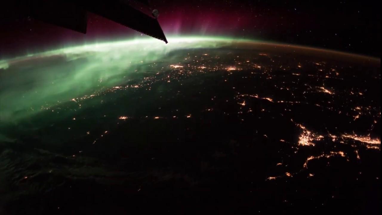 Нощен полет над Земята 2 (видео) (Астрономическа снимка на деня – APOD)