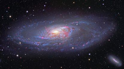 Спиралната галактика М106 (Астрономическа снимка на деня – APOD)