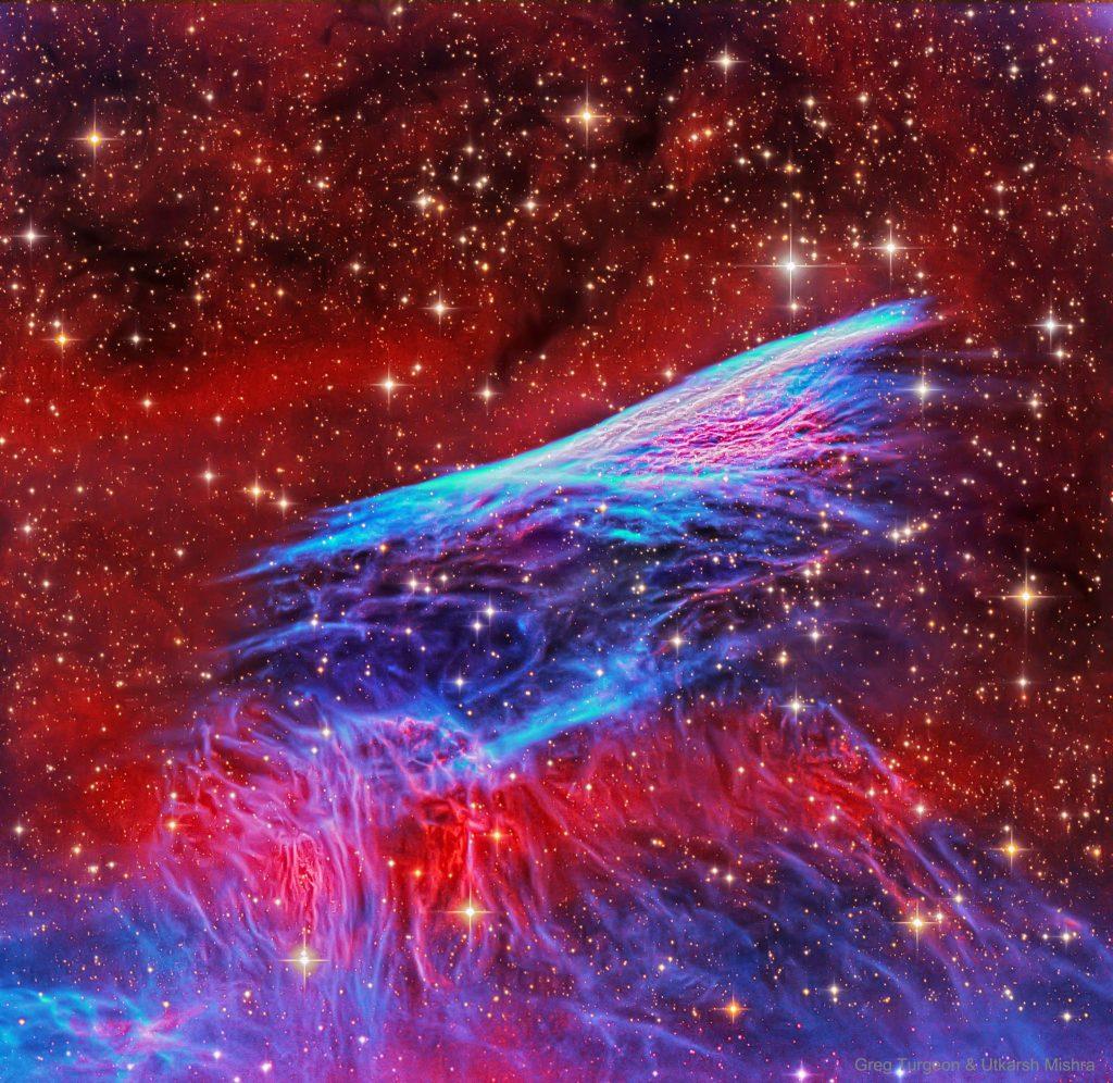 Ударната вълна от свръхнова в мъглявината Молив (Астрономическа снимка на деня – APOD)