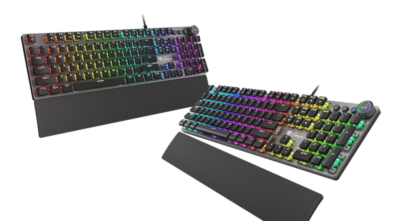 Genesis пуска на пазара три нови нископрофилни механични гейминг клавиатури