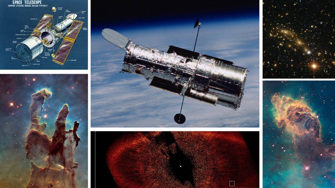"""Космическият телескоп """"Хъбъл"""" на 31 години"""