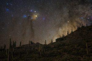 Дълбокият Космос над Yacoraite (Астрономическа снимка на деня – APOD)