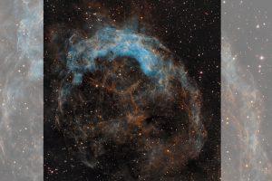 Отнесената от вихъра… мъглявина NGC 3199 (Астрономическа снимка на деня – APOD)