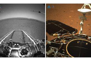 Китайската мисия Tianwen-1 успешно кацна на Марс и изпрати първите снимки, направени от марсохода (снимки и видео)