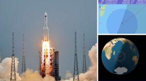 До два дни отломките от китайската ракета, излязла от контрол, се очаква да навлязат в атмосферата на Земята (видео)