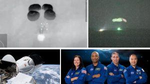 С нощно приводняване SpaceX успешно завърна на Земята 4-ма астронавти от МКС (видео)