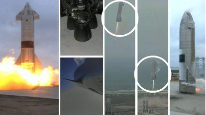 Успех! изстрелване, полет и приземяване за тестовия полет на космическия кораб Starship SN15 (видео)