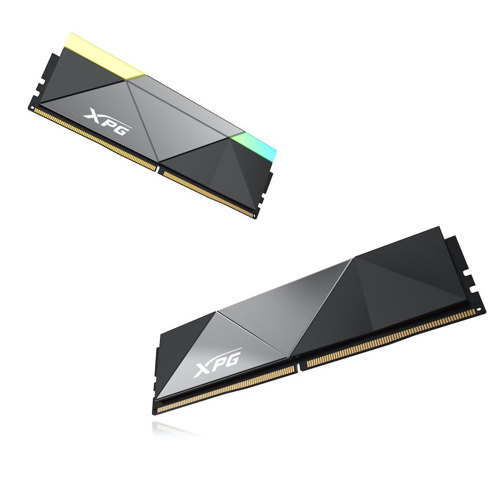 Тази година XPG пуска нови DDR5 гейминг памети с капацитет до 32GB и овърклокинг до 12600MHz