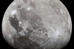 Ганимед, заснет от Juno (Астрономическа снимка на деня – APOD)