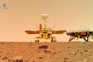 Zhurong: Нов роувър на Марс (Астрономическа снимка на деня – APOD)