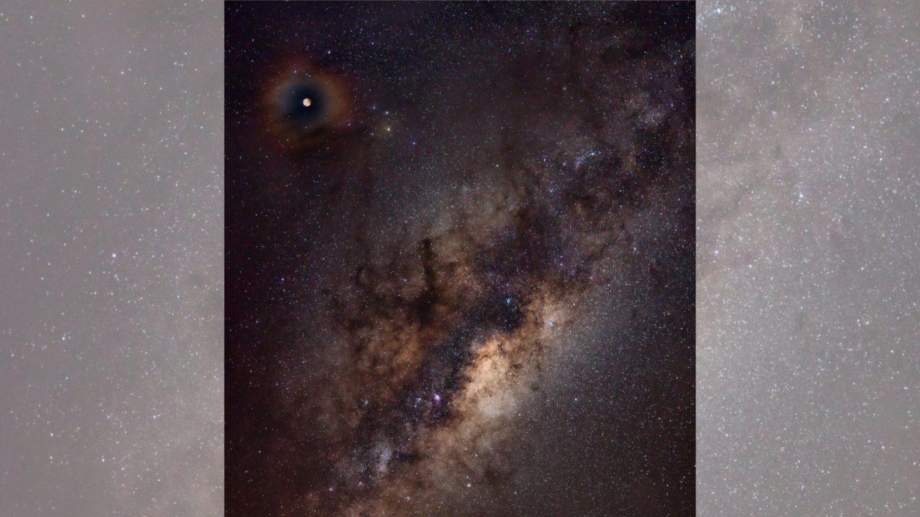 Короната на едно пълно лунно затъмнение (Астрономическа снимка на деня – APOD)