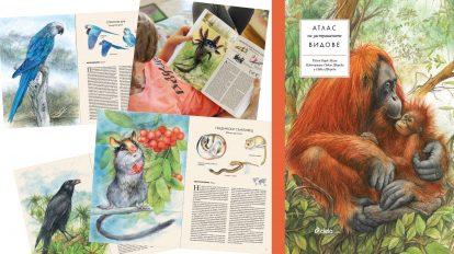 """Богато илюстрираният """"Атлас на застрашените видове"""" от Радик Мали събира 41 животински вида"""