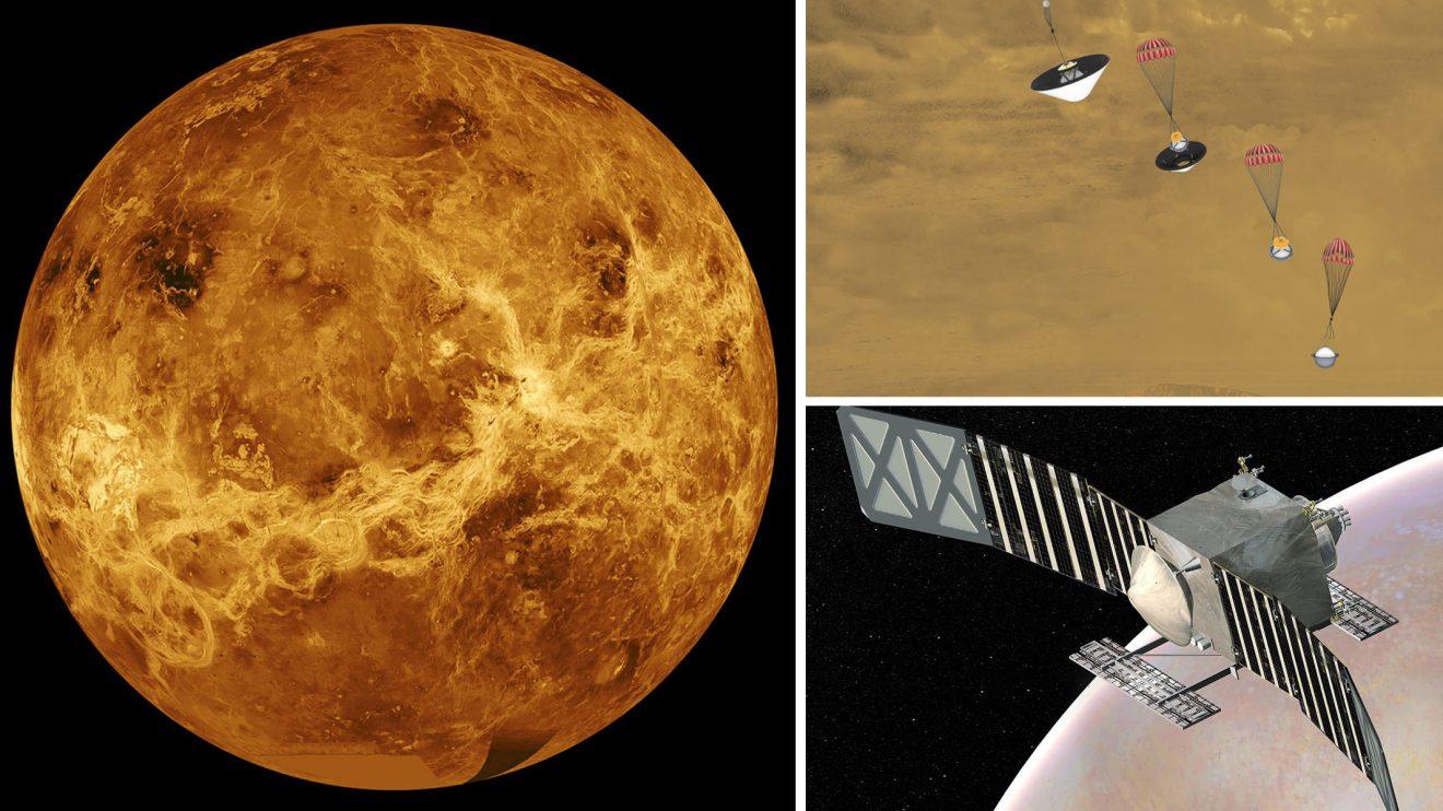 НАСА се завръща на Венера с две мисии - орбиталната DAVINCI+ и спускаемата VERITAS