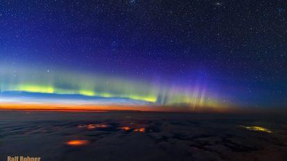 Ръбът на Космоса (Астрономическа снимка на деня – APOD)