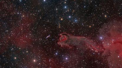 CG4: Разкъсана кометна глобула (Астрономическа снимка на деня – APOD)
