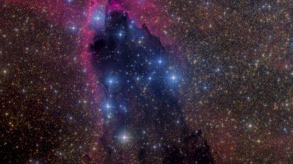 Тъмната кула в Скорпион (Астрономическа снимка на деня – APOD)