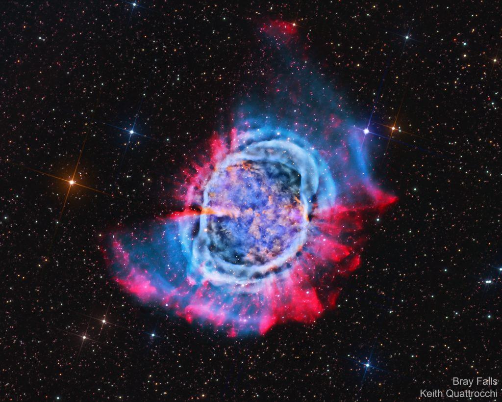 M 27: Мъглявината Дъмбел (Астрономическа снимка на деня – APOD)