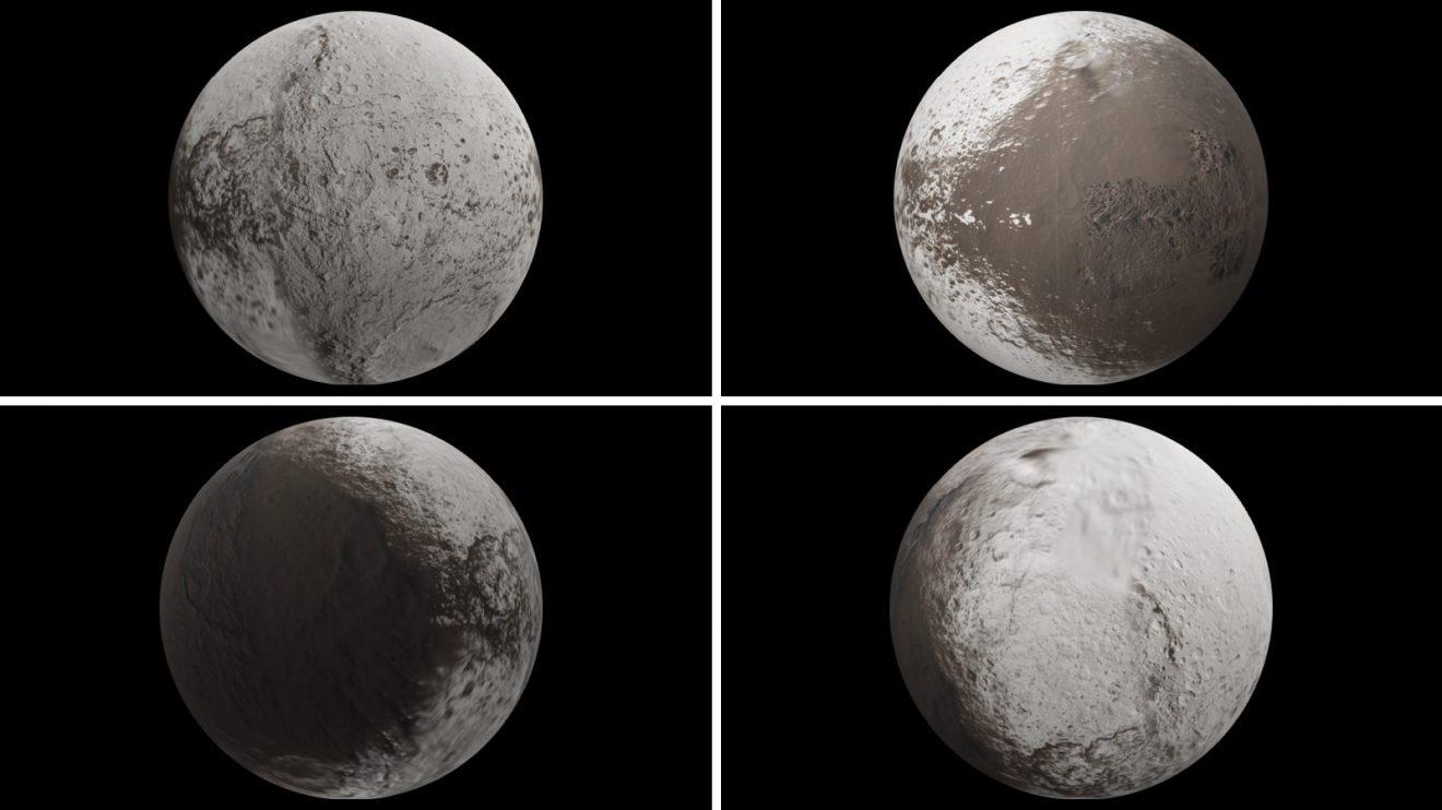 """Япет - """"изрисуваният"""" спътник на Сатурн в 3D (Астрономическа снимка на деня – APOD)"""