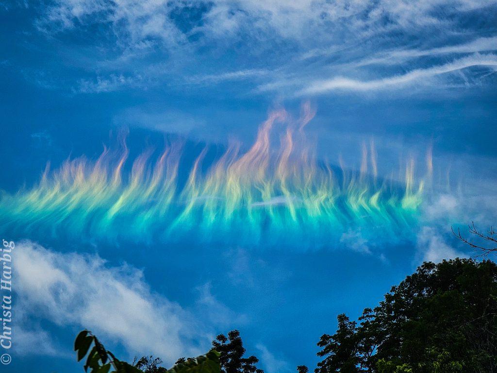"""""""Огнена дъга"""" над Западна Вирджиния (Астрономическа снимка на деня – APOD)"""