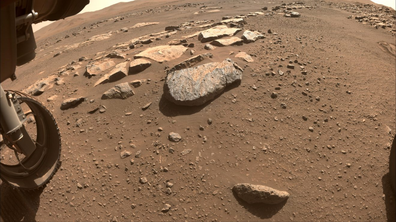 Марсианската скала Рошет (Астрономическа снимка на деня – APOD)