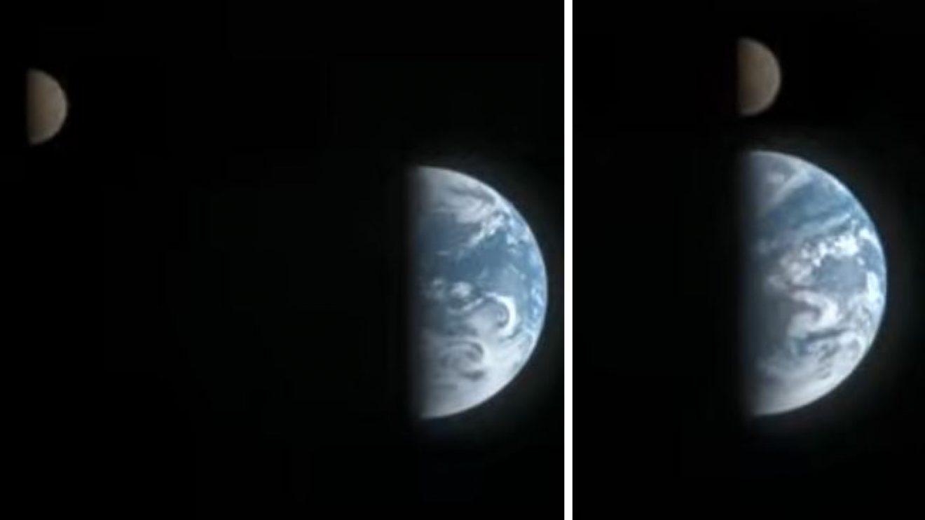 Земя и Луна (видео) (Астрономическа снимка на деня – APOD)