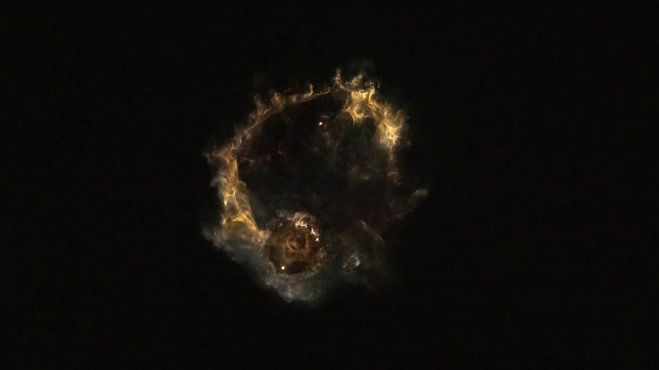 """""""Мъглявината"""" Falcon 9 (Астрономическа снимка на деня – APOD)"""