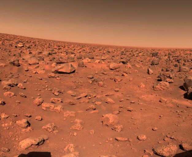 45 години от кацането на апарата Viking 2 на Марс, изпратил първите цветни снимки от Червената планета (снимки и видео)