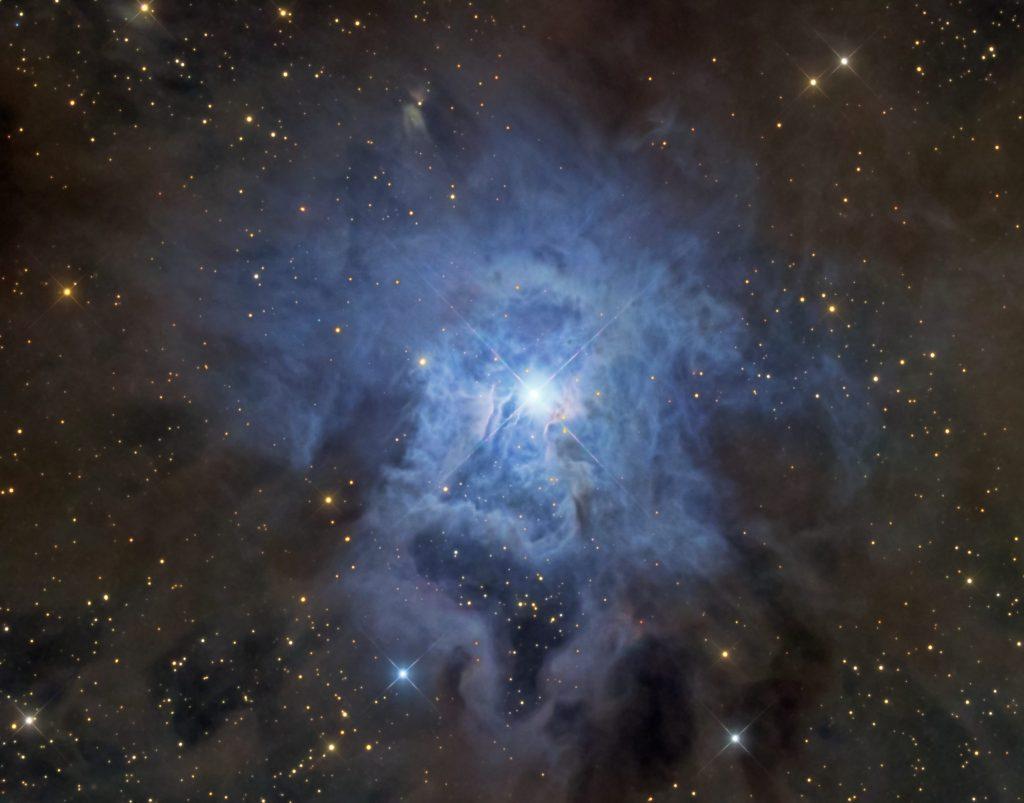 NGC 7023: Мъглявината Ирис (Астрономическа снимка на деня – APOD)