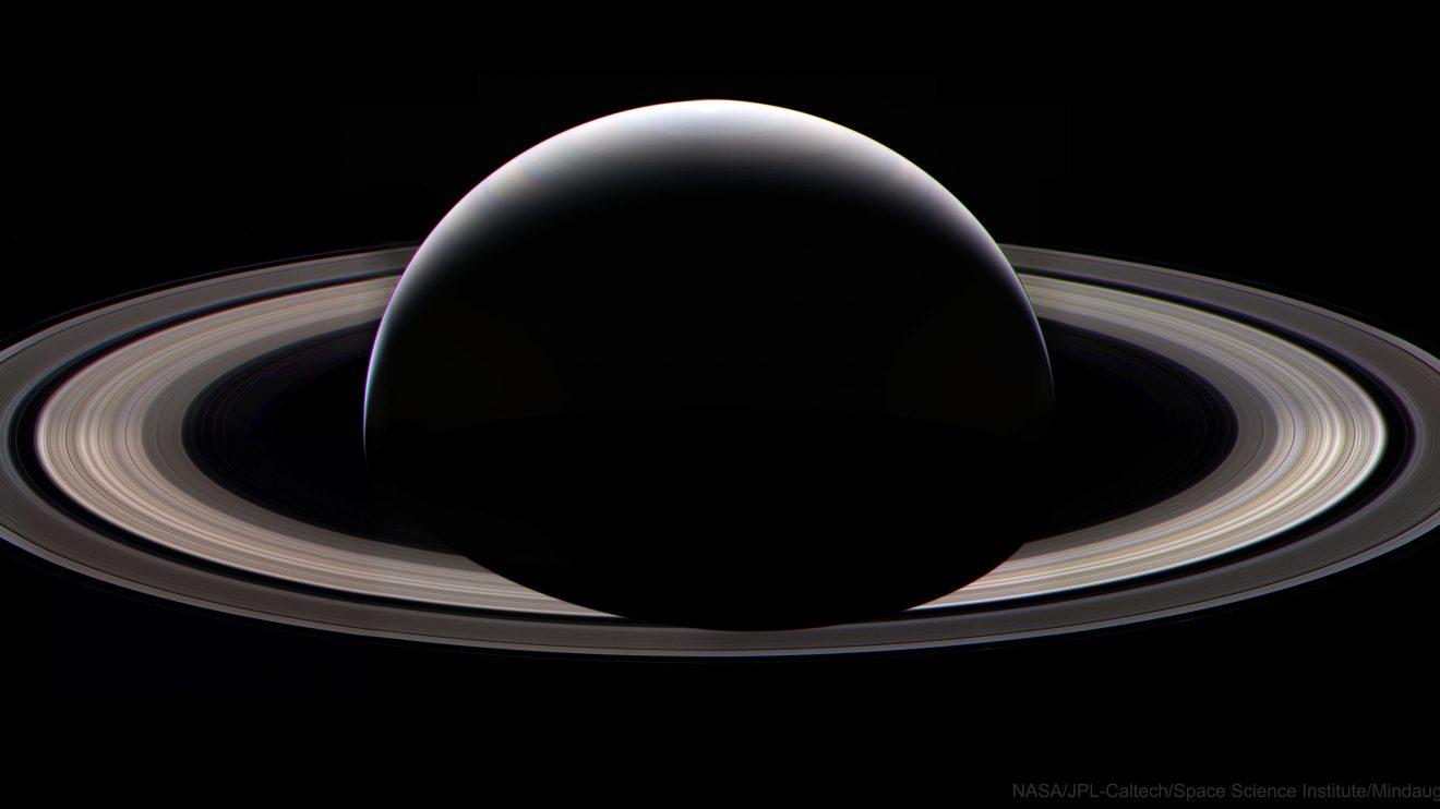 Сатурн през нощта (Астрономическа снимка на деня – APOD)