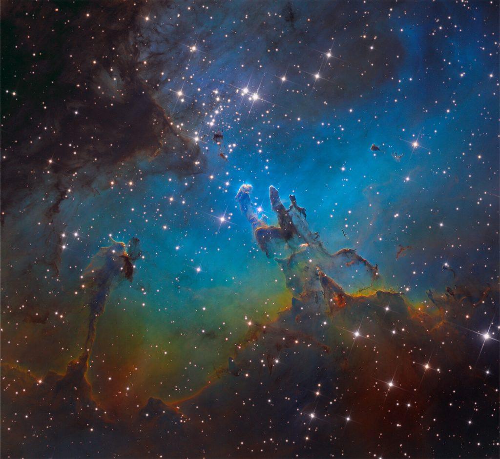 Близък поглед към М16 (Астрономическа снимка на деня – APOD)