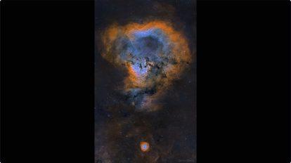 NGC 7822: Космически въпросителен знак (Астрономическа снимка на деня – APOD)