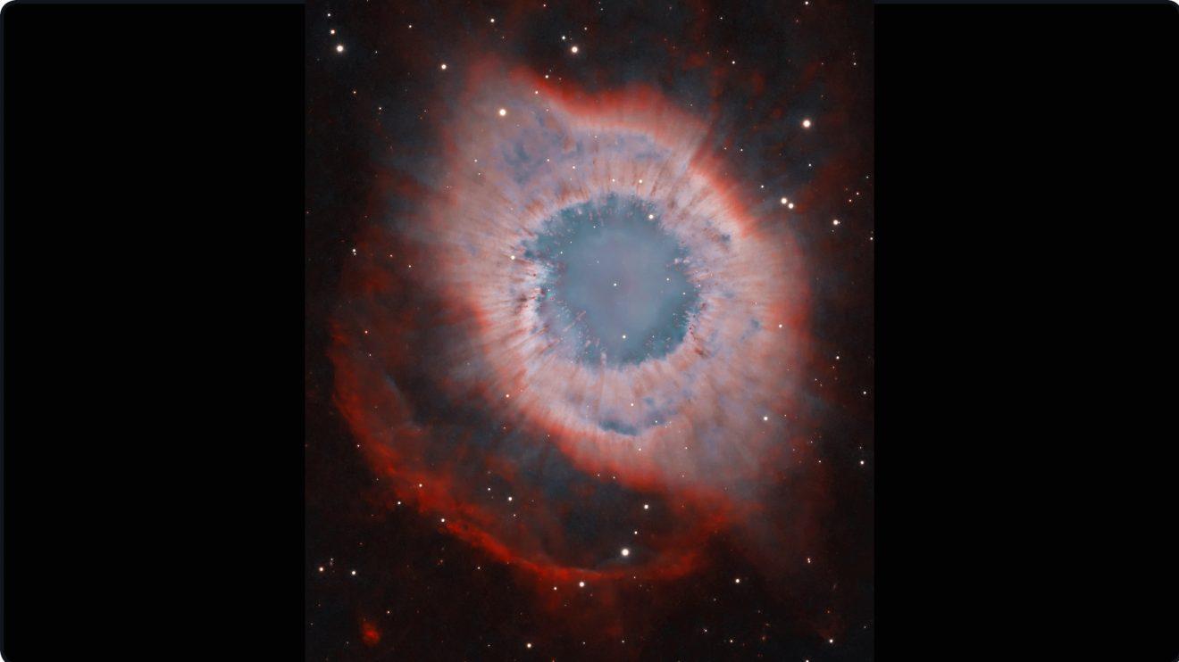 NGC 7293: Мъглявината Хеликс (Астрономическа снимка на деня – APOD)